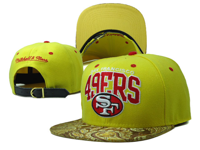 San Francisco 49ers NFL Snapback Hat Sf7